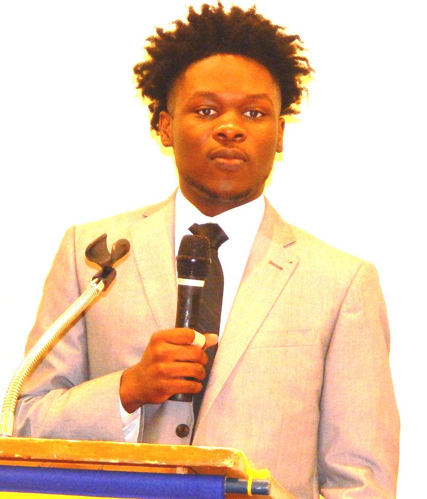 ahs senior brandon fenn addresses dougherty kiwanis club state standout dcss student offers his take on the needs of high school peers