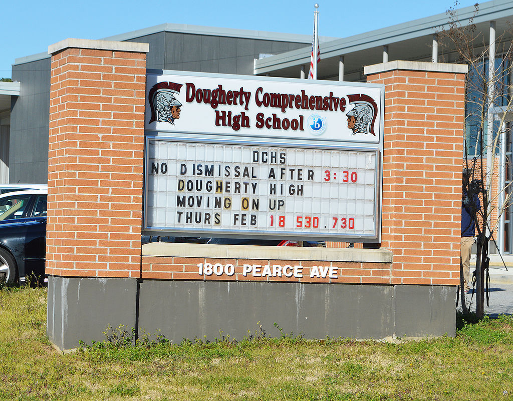 one student arrested after disturbance at dougherty high local one student arrested after disturbance at dougherty high