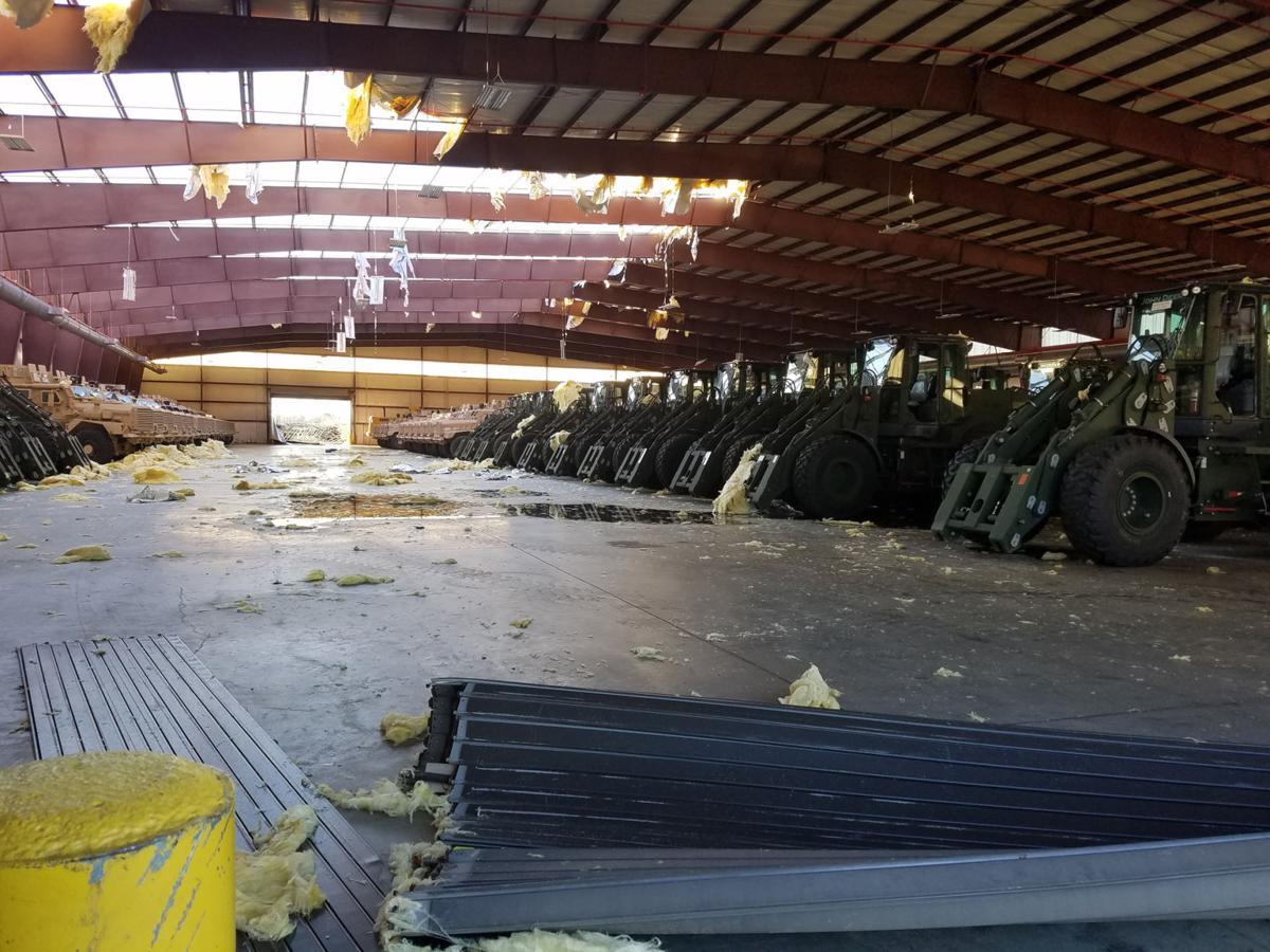 marine corps logistics base albany damaged by storm multimedia mclb albany storm damage