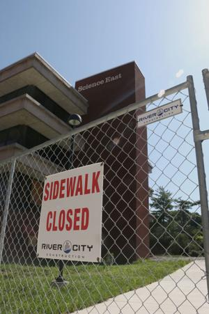 State government shutdown impedes Science East Building restoration