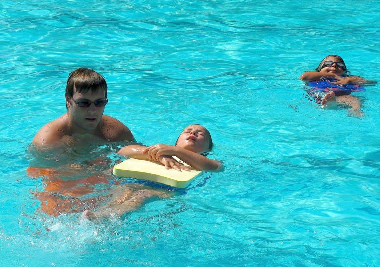 Staying Cool In The Pool Corning Youths Spend Summer Swimming Appeal Democrat Corning Observer