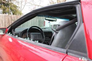 Car Window Shot Out