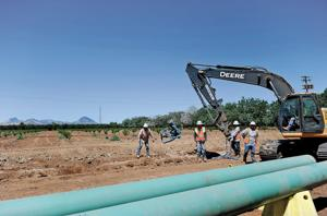 Pacific Gas & Electric gas main upgrade
