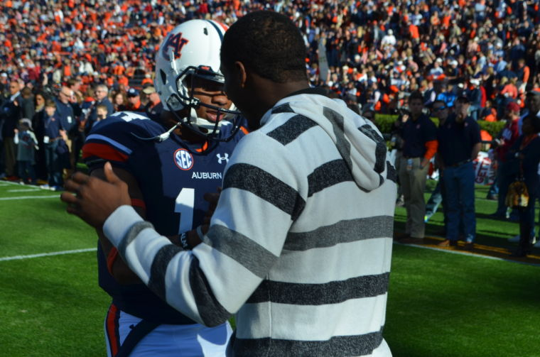 D'haquille Williams and Nick Marshall