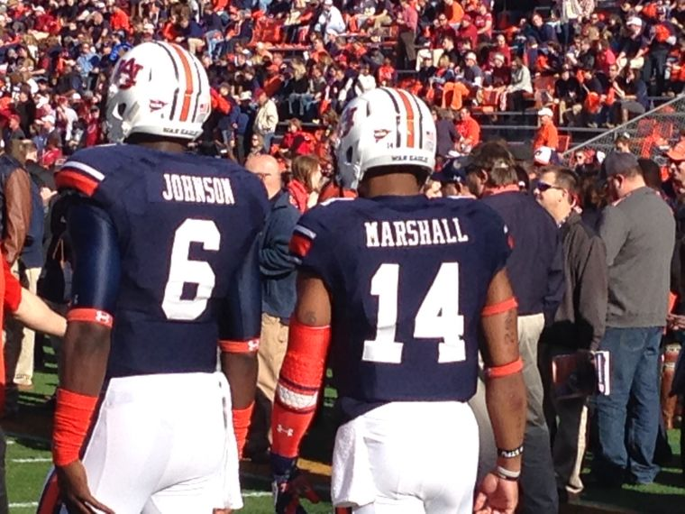 The man to get the job done, Nick Marshall