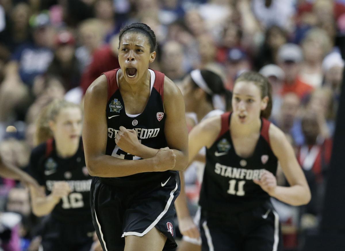 APTOPIX Final Four Stanford South Carolina Basketball