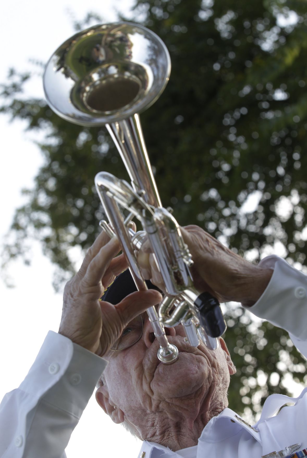 WWII and Korean War veteran Bob Otto has played Taps '5,000 times,' then hung up his bugle