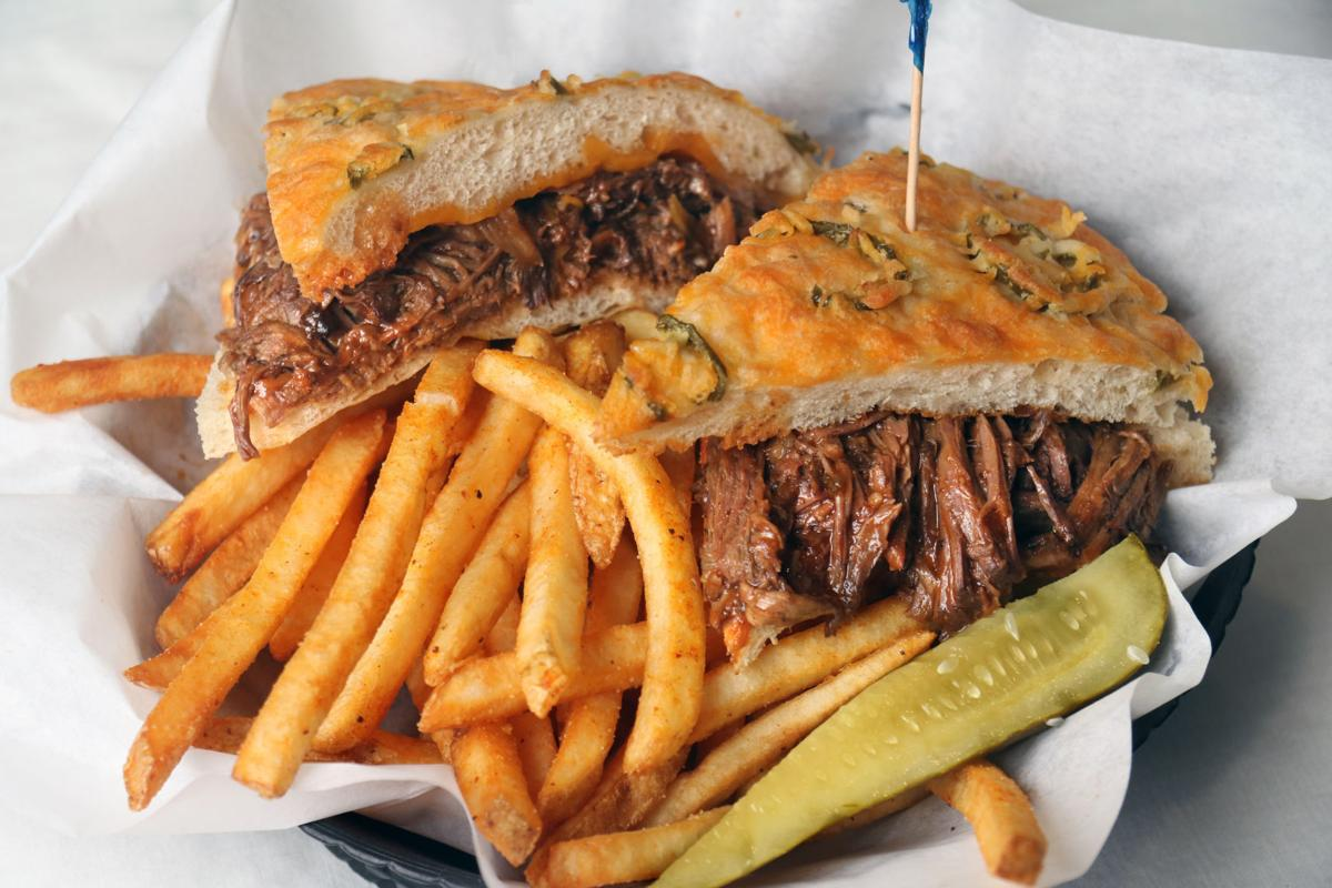 Lengthwise Brewing Company Pit Beef Sandwich