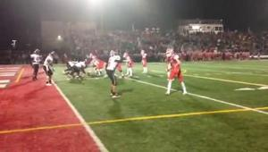 Marist High School winning touchdown 11-7-15