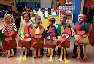 St. John Fisher preschoolers