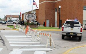 <p>The Rusk County Government Center was quickly evacuated Thursday, June 25 after a Ladysmith resident turned in a World War II era military explosive Type 89 grenade launcher. The device was found in an attic and stored the last five years in the man's garage.</p>