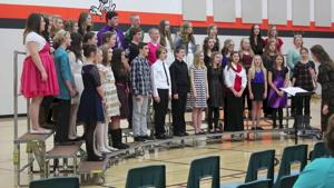 Bloomer Middle School 7th and 8th Grade Winter Concert
