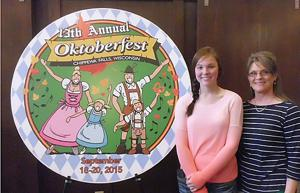Jamie Seibel's Logo Design Chosen For 13th Oktoberfest