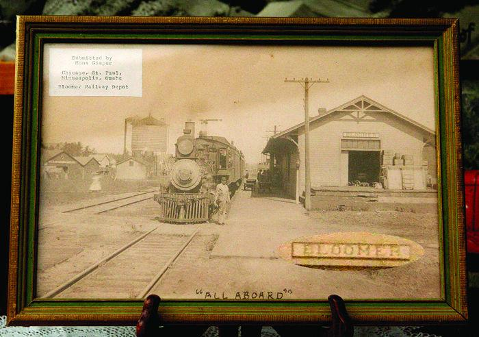 Early Photo Of Bloomer Depot
