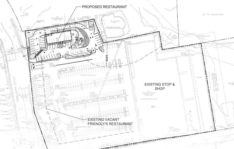New Plan Proposes Diner in Old Friendly's Spot