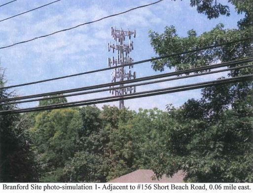 Cell Tower Going Up In Short Beach Local Branfordseven Com