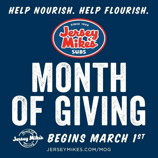 Jersey mikes fundraiser to support take a vet fishing for Take a vet fishing