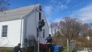 Branford Fire Training With New Escape Equipment