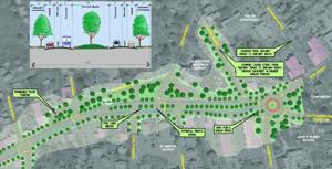 Roundabout in Town Center? Center Revitalization Concept Plan Gets Funding