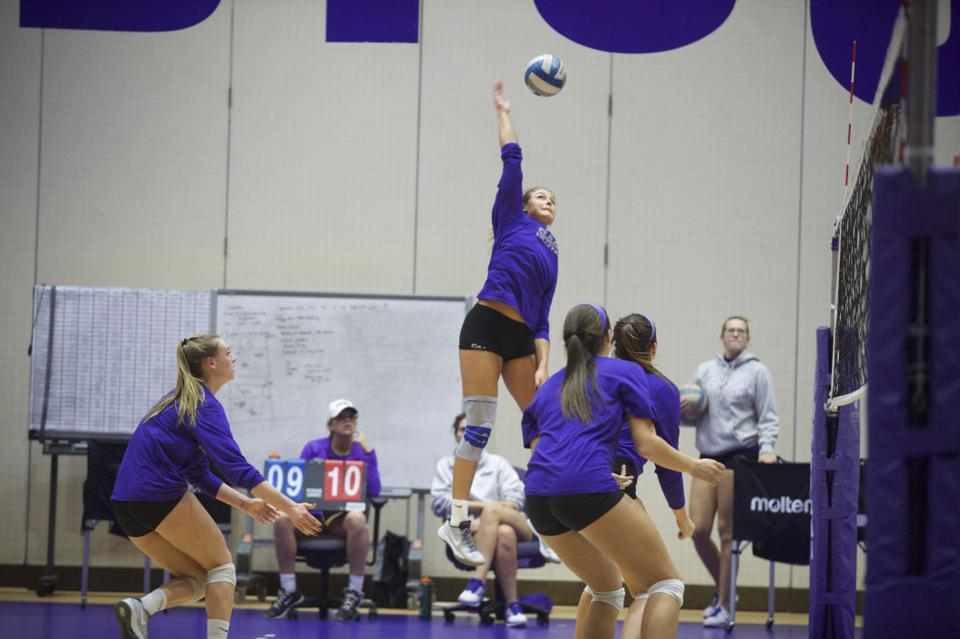 Volleyball prepares to host CAA tournament