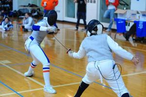 Fencing club on point in tourney