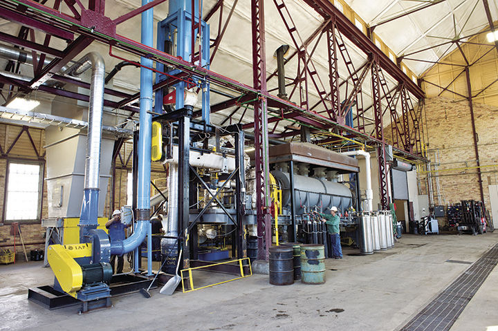 NRRI leads the way in alternative fuel process