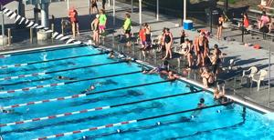 Tiger Sharks make swim meets family friendly, more relaxed