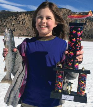 McGinnis Middle School ice fishing derby