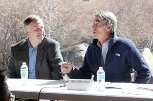Lamborn & Udall discuss Browns Canyon