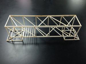 Bridges made by BVHS physic students