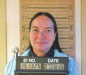 <p>Maria Day is shown in a booking photo.</p>