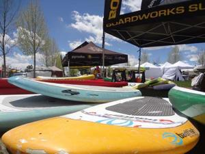 PaddleFest 2015 sets up to blue skies and sunshine.