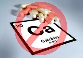 no calcium