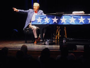 Mark Russell brings elicits laughs at The State Theatre