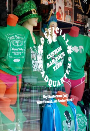 Stores see drop in sales of State Patty's Day merchandise