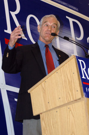 Ron Paul visits 2008