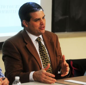 Jay Paterno talks to PRSSA in 2013