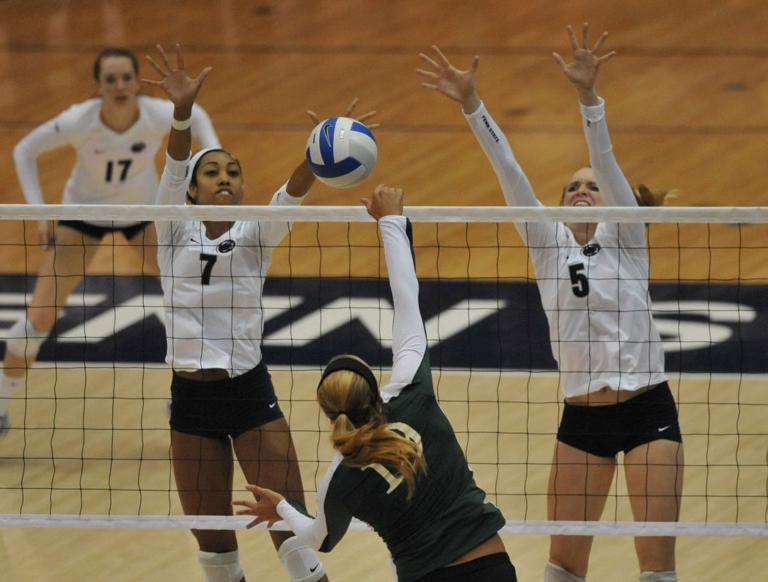 Women's volleyball returning starters contribute to total team effort