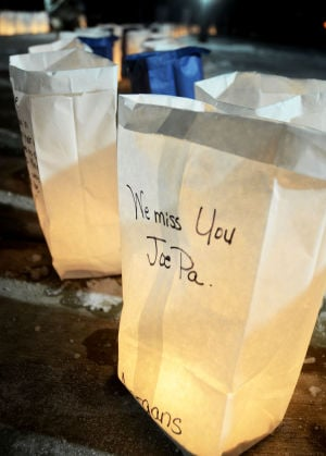 We Miss You Joe Pa at Vigil