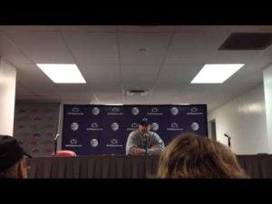 Bill O'Brien press conference following loss at Ohio State