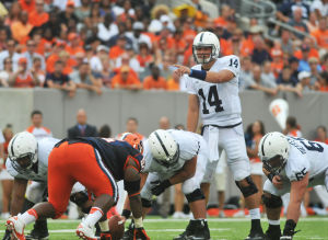 Hackenberg Directs Offense