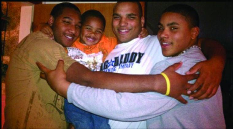 DaQuan Jones and brothers