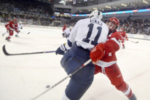 Slow start dooms Penn State men's hockey against No. 5 Wisconsin