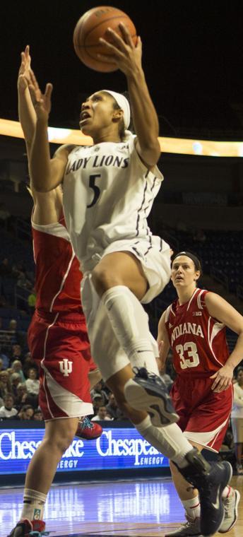Women's Basketball Versus Indiana - The Daily Collegian: Multimedia