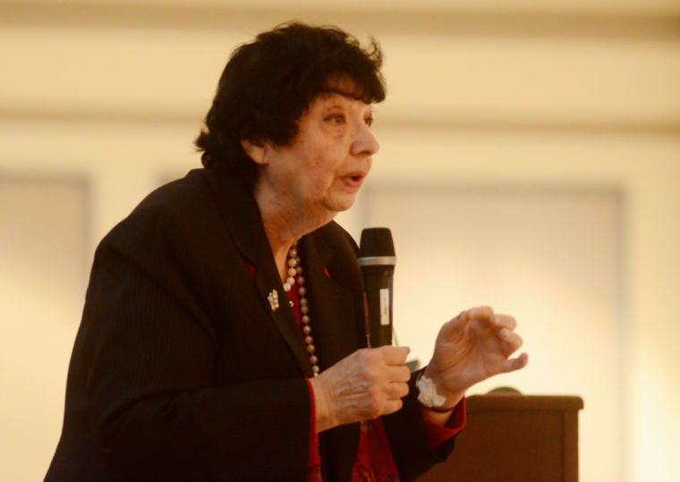 Holocaust Survivor Inge Auerbacher Speaks Of Experience