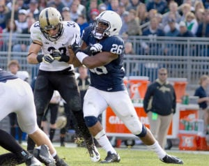 Bell defends against Purdue