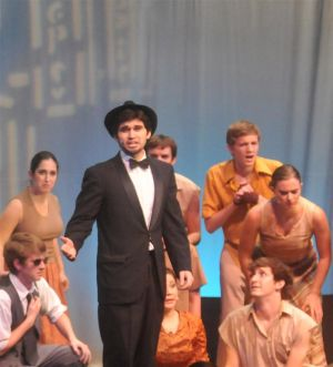 Broadway musical classic 'The Producers' entertains