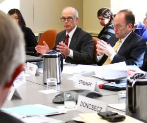 Board of Trustees convene in Hershey to discuss room and board, construction projects