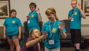 Summer Academy helps visually impaired students at Penn State