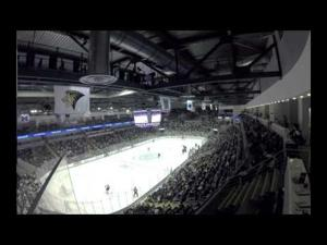 Time-lapse of the Penn State men's hockey 2014-15 opener